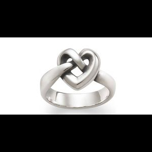 Jewelry - James Avery Heart Knot thick Ring